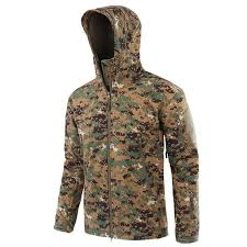 Us 18 51 22 Off Waterproof Jacket Men Outdoorclimbing Military Tactical Jackets Windbreaker Tadhunting Camouflage Hooded Camo Fleece Coats In