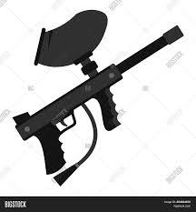Cool Paintball Gun Designs Paintball Marker Gun Image Photo Free Trial Bigstock