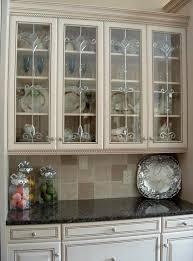 kitchen cabinets with glass doors cabinet for door design in
