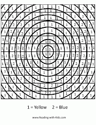 Color By Number Advanced Coloring Pages - Coloring Home