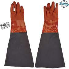 blast cabinet gloves abrasive blasting