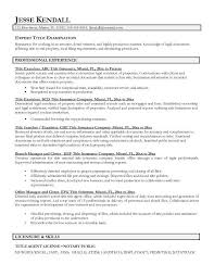 resumes titles