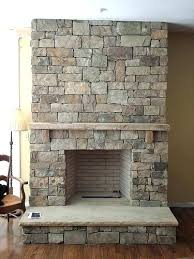 faux stone fireplace panels stone veneer