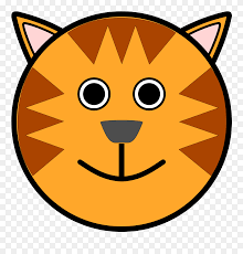 draw easy tiger face clipart 5493787