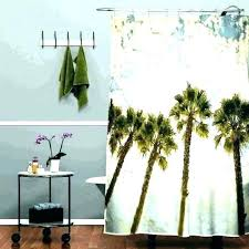 palm tree curtains s palm tree shower curtains bath accessory sets