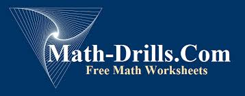 math drills worksheets