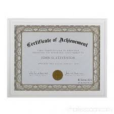 white certificate frame 8 5x11 document frame certificate frames made of solid wood high