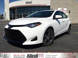 2017 Toyota Corolla LE Upgrade Package - Brampton ON - Attrell ...