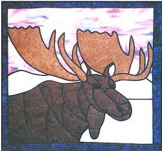 Stained Glass Moose Quilt Pattern by Designs by Edna & PT1919 Stained Glass Moose Quilt Pattern by Designs by Edna. Zoom Adamdwight.com