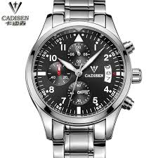 online get cheap watch men 2013 aliexpress com alibaba group top brand luxury men military wrist watches cadisen 2016 men watches full steel men sports watch