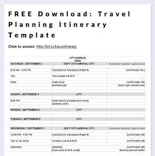 trip planner templates travel planner template delux photo simple itinerary trip family