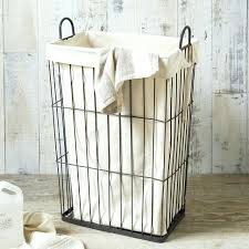 bathroom laundry basket in cabinet hampers