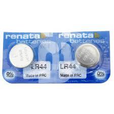 Alkaline 1 5 Volt Lr44 Renata Battery 2 Pack