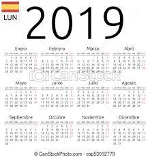 Calendar Year 2019 Printable Calendar 2019 Under Fontanacountryinn Com