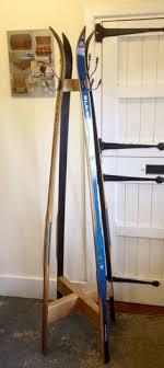 Vintage Ski Coat Rack Magnificent Antique Ski Hall Tree Coat Rack By SipesTahoe On Etsy Collect