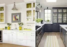 Gray Yellow Kitchen Homes Alternative 46667