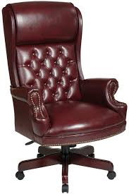 Office Chair Leather Red Leather Office Chairs Richfielduniversityus
