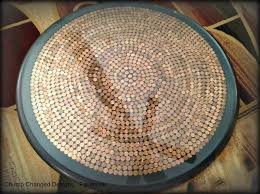 17 penny projects sand and sisal bar table diyround