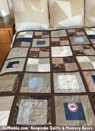 T Shirt Quilt & Keepsake Quilts: Custom-Made for You & Keepsake Quilt made from old clothing (a husband's hunting shirts and pants) Adamdwight.com