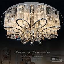 stock in us new modern chandelier living room ceiling light lamp fixture crystal lighting led lights crystal chandelier celling lights with