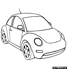 Here you can find coloring pages with cars of any kind. Cars Online Coloring Pages