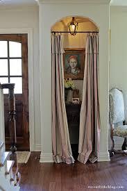 coat closet turned entry nook