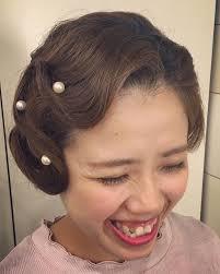 Risasmile ウェーブ正面 Hair Hairdo Hairstyle Bride Wedding
