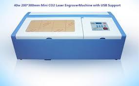 Free Ship <b>40W</b> 300x200mm <b>Desktop</b> co2 <b>mini laser</b> Engraver CNC ...