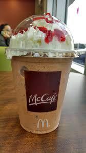 mcdonalds mccafe chocolate covered strawberry frappé