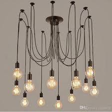 modern vintage lights chandelier pendant lighting holder group edison diy lighting lamps lanterns accessories messenger wire glass light pendants seeded