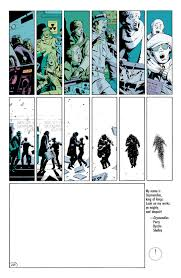 what no one talks about when they talk about the watchmen ending this ends the chapter when the next chapter opens we are treated to several massive dense pages of chaos and destruction dead bodies are strewn about