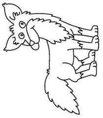 Small Picture Fox in Socks by Dr Seuss Coloring Page from TwistyNoodlecom