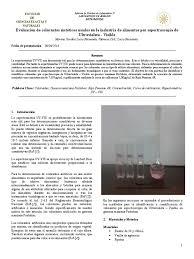 Colorantes Sinteticos En Los Alimentos L Duilawyerlosangeles