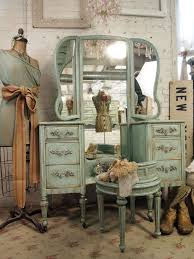 image of vintage vanity table ideas
