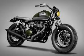 triumph bonneville custom by ton up garage