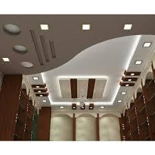 concealed grid upto 1 inch living room pop false ceiling