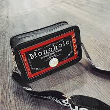 Designer Mini Crossbody Bag Us 4 34 43 Off Ocardian Handbags Mini Crossbody Bags For Women Designer Letter Print Leather Square Bag Shoulder Messenger Bag Dropship M7 In