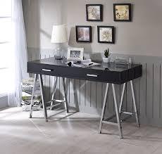 chrome office desk. Coleen-black-and-chrome-office-desk.jpg_product Chrome Office Desk O