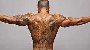 фото мужских татуировок на спине руке предплечье шее