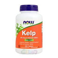 Kelp (<b>Келп</b>) <b>150 мкг</b> - купить в интернет-магазине Vitamina, цена ...