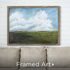 Using framed, pressed flowers as a living wall décor will make the atmosphere of your living room lively and full of natural freshness. Art And Wall Decor Kirklands