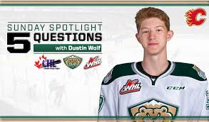 5 Questions with Dustin Wolf – CHL