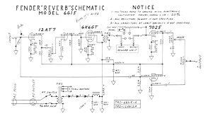 fender amp schematics fender reverb 6g15 schematic