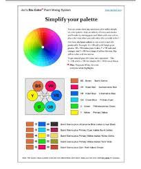 Colour Mixing Chart For Acrylic Paint Pdf Primary Color Mixing Chart Pdf Bedowntowndaytona Com