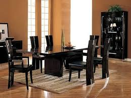 glass dining room table seats 6. glass top dining table set 6 chairs room seats