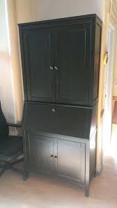 secretary desk with hutch secretary desk with additional hutch in black brown kitchen secretary desk hutch