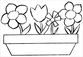 Flower Coloring Pages To Print Flower Coloring Pages Plus Floral