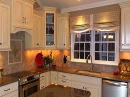 Decorating Kitchen Windows Curtain For Kitchen Window Narrow Kitchen Decorating Design White