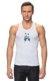 <b>Майка классическая Панда</b> боксер #1422619 по цене 916 руб. в ...