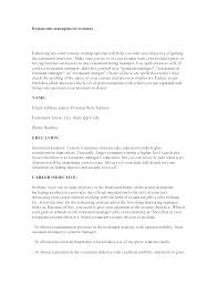 Assistant Manager Restaurant Resume New Sample Resume Assistant Supervisor Restaurant Curriculum Vitae